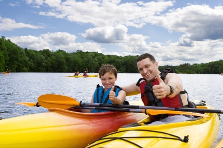 Kayaking Photo on Camp
